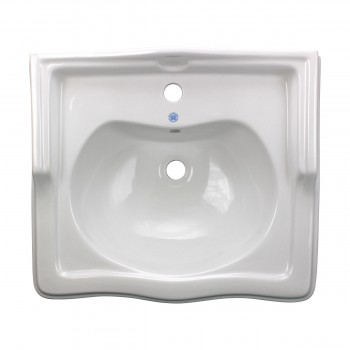 <PRE>White Pedestal Sink Grade A Vitreous China Scratch Resistant Set of 2</PRE>zoom3