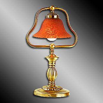 <PRE>4 Table Lamp Amber Polished Brass Table Lamp 17inchH </PRE>zoom3