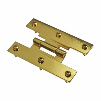 <PRE>3inch Solid Brass Cabinet H Hinge Offset PVD Long Lasting Finish Pack of 6</PRE>zoom6