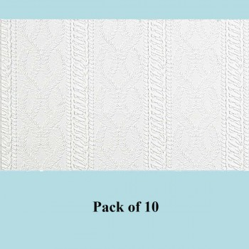 <PRE>10 Wallpaper White Embossed Textured Vinyl Greenwich </PRE>