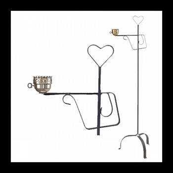 <PRE>Floor Lamp Black Wrought Iron Lamp 56inchH </PRE>zoom3