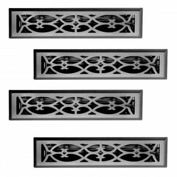 <PRE>4 Floor Heat Register Louver Vent Steel 2 1/4 x 12 Duct </PRE>zoom1