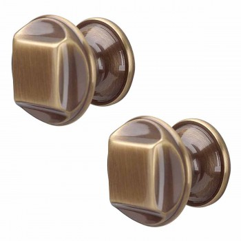 <PRE>2 Cabinet Knob Antique Brass 1 1/4inch Dia </PRE>zoom1