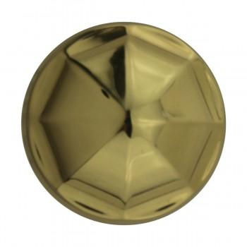 <PRE>10 Cabinet Knob Bright Brass 1 1/4inch Dia Octagonal </PRE>zoom8