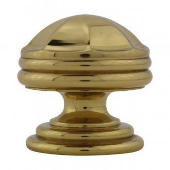 <PRE>10 Cabinet Knob Bright Brass 1 1/4inch Dia Octagonal </PRE>zoom10