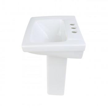 6 Childrens White Pedestal Sinks Porcelain Set of 6 Childrens white pedestal sink Childrens sink ceramic pedestal sink