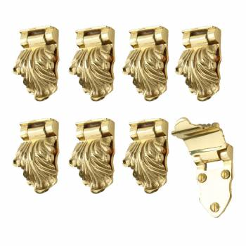 8 Pcs Window Sash Lifts Decorative Cast Heavy Brass Window Pulls Window Lifts Sash Lift