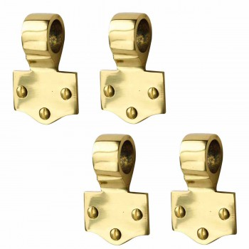 <PRE>4 Sash Lift Solid Brass Offset Eye </PRE>