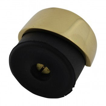 <PRE>2 Door Bumpers Polished Brass Floor/Wall Mount Set of 2 </PRE>zoom9