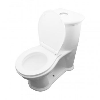 <PRE>2 Child's Toilet White Round Small Toilet Set Of 2</PRE>zoom12