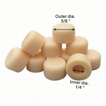 spec-<PRE>50 Door Stop Bumper Tips Almond Silicone Rubber Set of 50 </PRE>