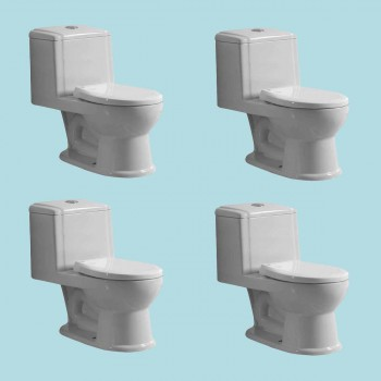 <PRE>Child's Small Porcelain Toilet Potty Training Ceramic China Set of 4</PRE>zoom2