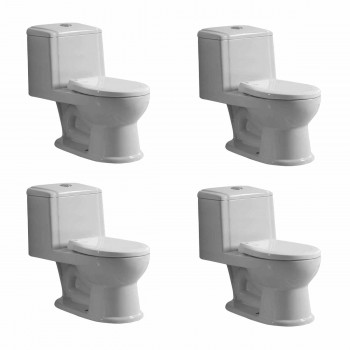 Childs Small Porcelain Toilet Potty Training Ceramic Porcelain Set of 4 White Childs Toilet Childs Potty Training Toilet porcelain ceramic bathroom small