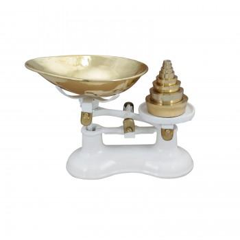 Kitchen Scale Iron Bowl Weights Decoration Kitchen Decorative Antique Weighted Scale Bowl