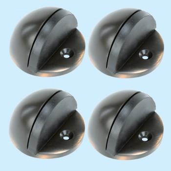 <PRE>Oil Rubbed Bronze Door Stopper Adjustable Height Floor Mount Pack of 4</PRE>zoom2