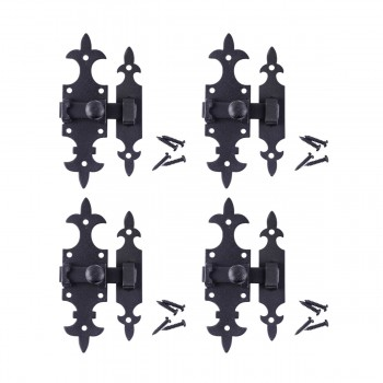 <PRE>5 1/2inch Cabinet Slide Latch &quot;French Quarter&quot; Design Pack of 4</PRE>zoom1