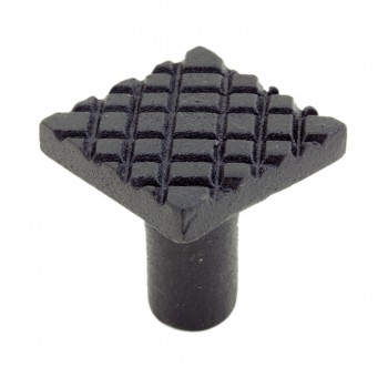 <PRE>Square Diamond Grid Iron Cabinet Knob Black Pack of 4</PRE>zoom7