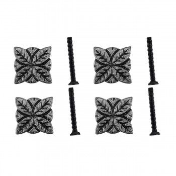 <PRE>Flower Iron Cabinet Knob Pewter Finish Cabinet Hardware Pack of 4</PRE>zoom1