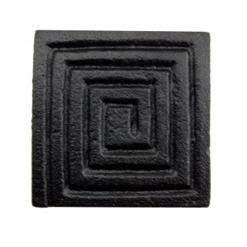 <PRE>Square Maze Cabinet Hardware Iron Cabinet Knob Black Pack of 4</PRE>zoom7