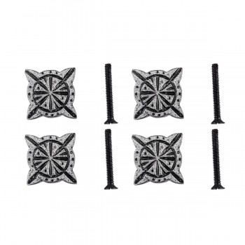 <PRE>Iron Cabinet Knob Pewter Finish Target Design Cabinet Hardware Pack of 4</PRE>zoom1