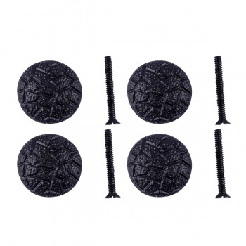 <PRE>Iron Cabinet Knob Black Round Cobble Stone Design Cabinet Hardware Pack of 4</PRE>zoom1