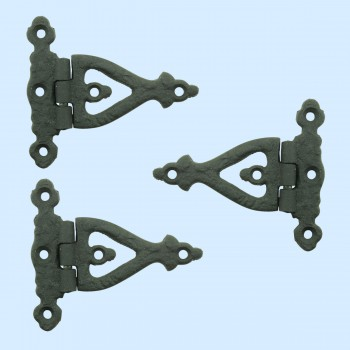 <PRE>3 Inch Black Wrought Iron Door Hinge Strap RSF Finish Barn Door Hinges Pack of 3</PRE>zoom2