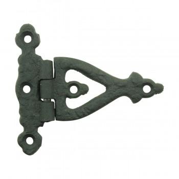 <PRE>3 Inch Black Wrought Iron Door Hinge Strap RSF Finish Barn Door Hinges Pack of 3</PRE>zoom10