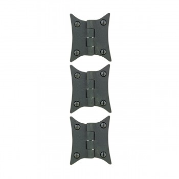 <PRE>Cast Iron Butterfly Cabinet Hinge 3 3/8inch H Pack of 3 </PRE>zoom1