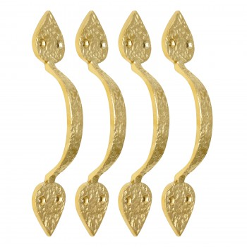 <PRE>Brass PVD Door Handle Pack of 4</PRE>zoom1