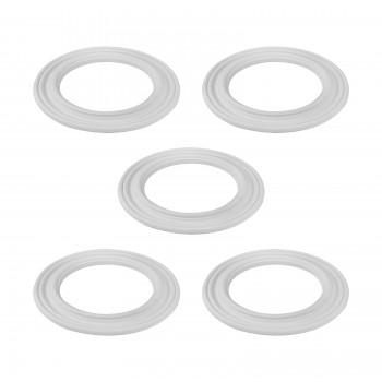 <PRE>Spot Light Ring White Trim 6.5inch ID x 10&quot;OD Mini Medallion 5 Pack </PRE>zoom1