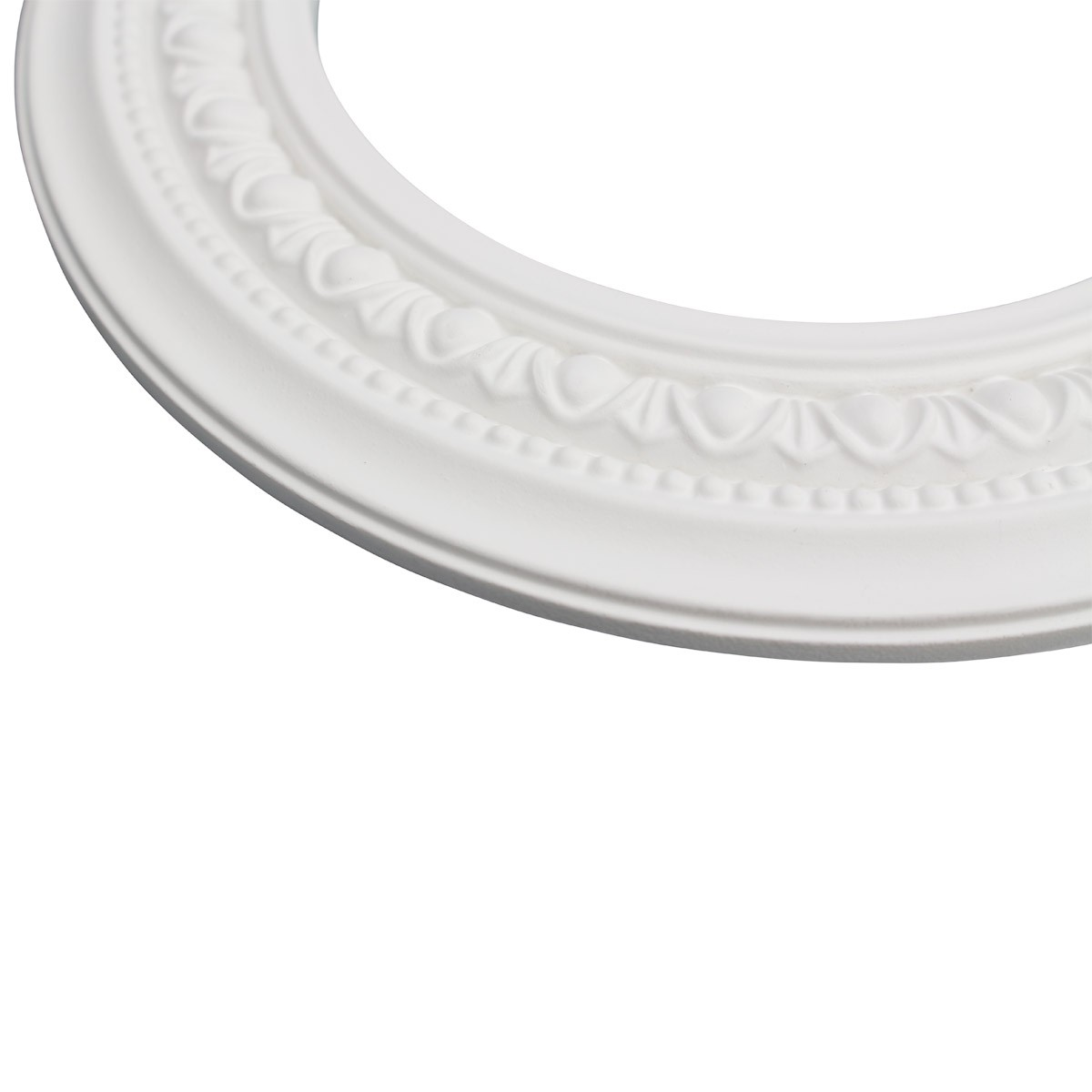 White Urethane Spot Light Trim Recessed Durable Foam 612 ID Pack of 3 Light Medallion Light Medallions Lighting Medallion