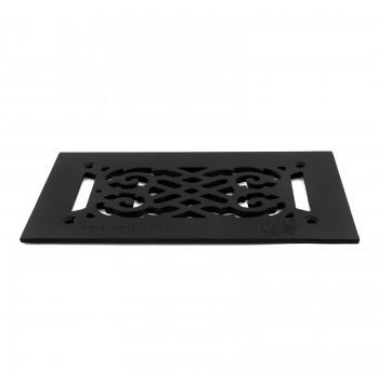 4 Heat Air Grille Cast Victorian 5.5 x 10 Overall Heat Register Floor Register Wall Registers