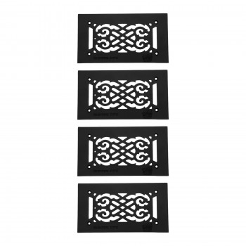 <PRE>4 Heat Air Grille Cast Victorian 5.5inch x 10&quot; Overall </PRE>zoom1