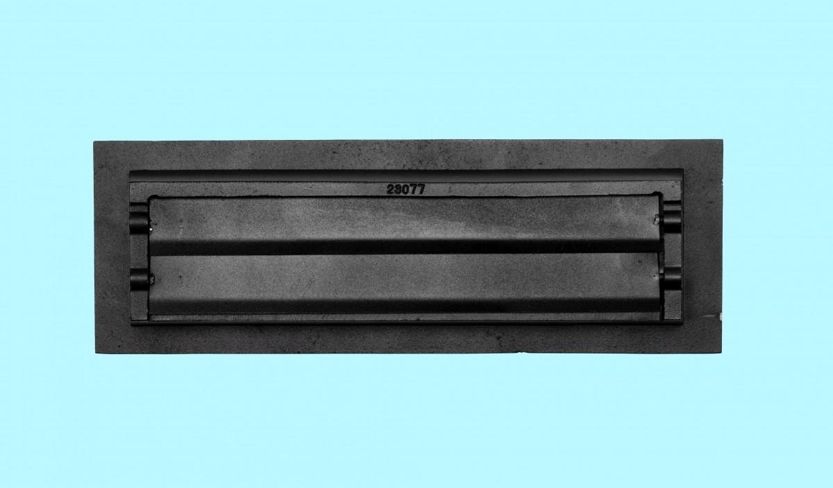 4 Floor Heat Register Louver Vent Victorian Cast 4 x 14 Duct Heat Register Floor Register Wall Registers