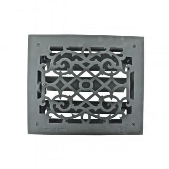 <PRE>4 Register Black Aluminum Heat Register Cast Aluminum w/Logo RSF Black</PRE>zoom7