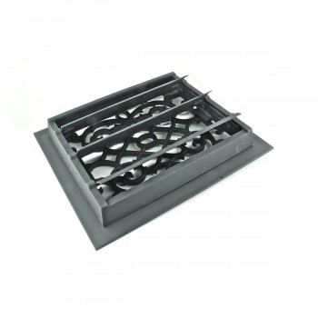<PRE>4 Register Black Aluminum Heat Register Cast Aluminum w/Logo RSF Black</PRE>zoom4