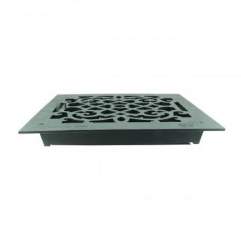 <PRE>4 Register Black Aluminum Heat Register Cast Aluminum w/Logo RSF Black</PRE>zoom11