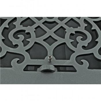 <PRE>4 Register Black Aluminum Heat Register Cast Aluminum w/Logo RSF Black</PRE>zoom6