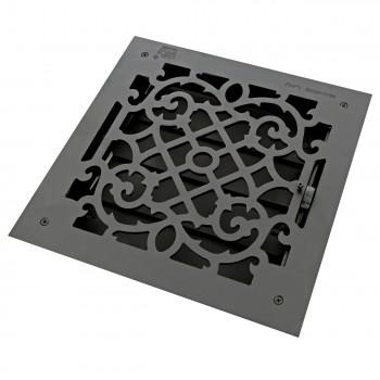 <PRE>4 Floor Heat Register Louver Vent Victorian Cast 12 x 12 Duct </PRE>zoom3