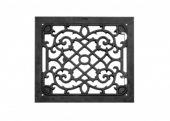 <PRE>4 Air Grilles Black Cast Aluminum Rustproof Set of 4 </PRE>zoom3