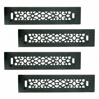 4 Floor Heat Register Louver Vent Cast 2 14 x 14 Duct Heat Register Floor Register Wall Registers
