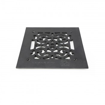 <PRE>4 Heat Air Grille Cast Victorian Overall 8 x 8 </PRE>zoom3