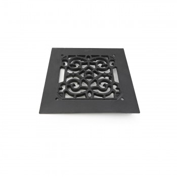 <PRE>4 Heat Air Grille Cast Victorian Overall 8 x 8 </PRE>zoom6