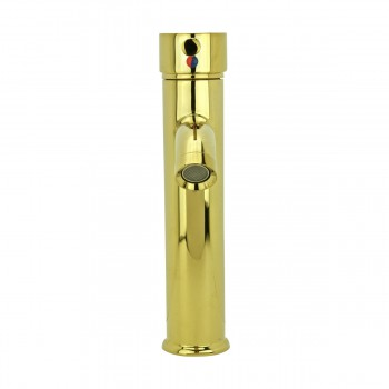 <PRE>4 Bathroom Faucet Gold PVD Brass Round Sinlge Hole 1 Handle </PRE>zoom4
