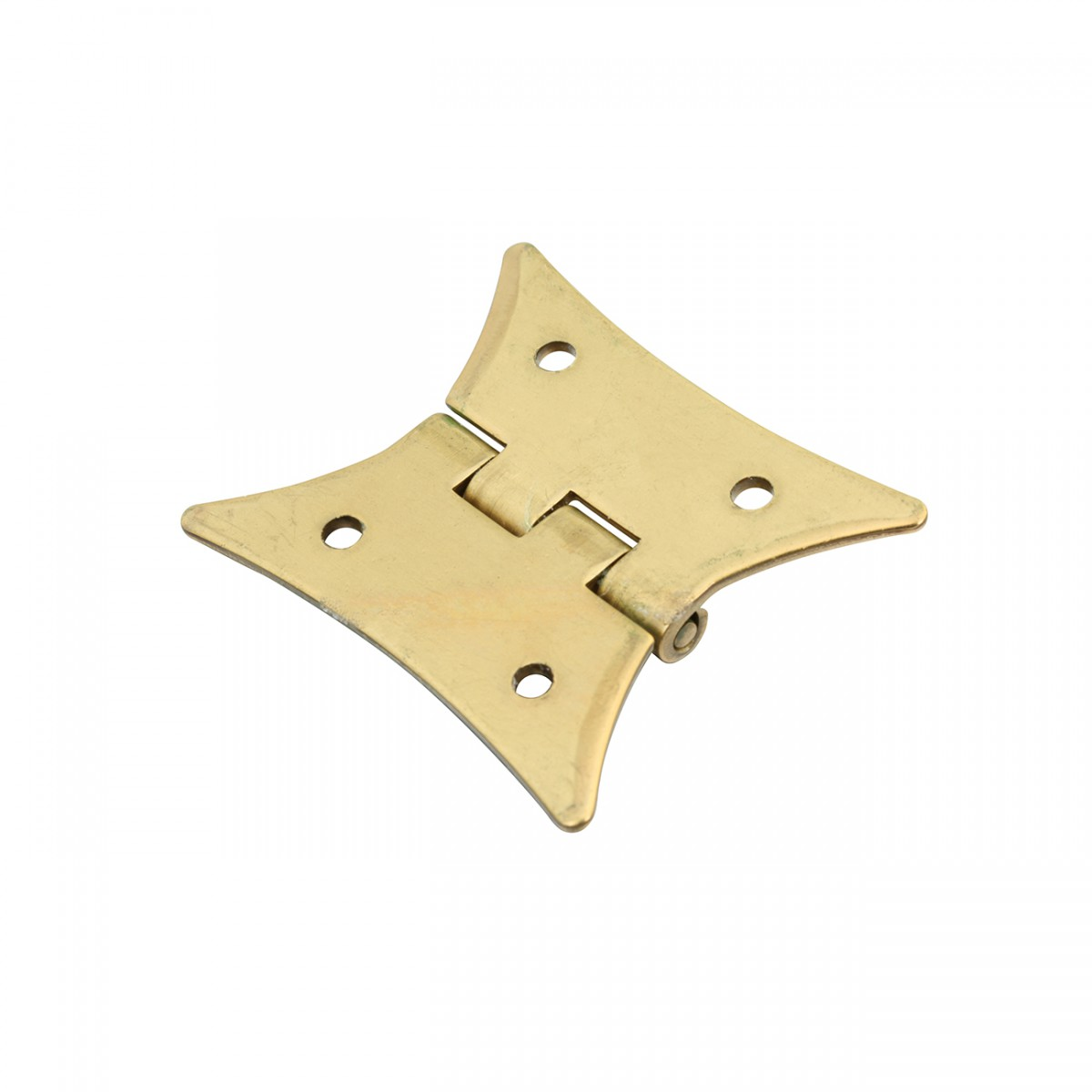4 Cabinet Hinges Bright Solid Brass Hinge 2 38 x 2 Set of 4 Door Hinges Door Hinge Solid Brass Hinge