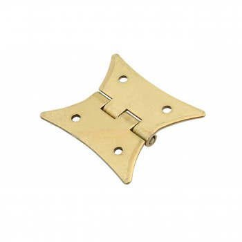 <PRE>4 Pack Butterfly Bright Brass Cabinet Hardware Hinges Brass Hinge 2 3/8 x 2 i</PRE>zoom5