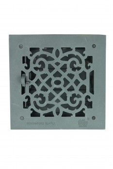<PRE>4 Floor Heat Register Louver Vent Cast 8inch x 8&quot; Duct </PRE>zoom4