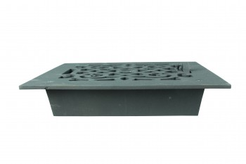 <PRE>4 Floor Heat Register Louver Vent Cast 8inch x 8&quot; Duct </PRE>zoom7