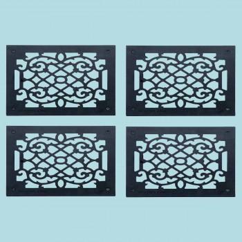4 Heat Register Floor Vent Grate Cast Aluminum  9.5 x 11 38 Heat Register Floor Register Wall Registers