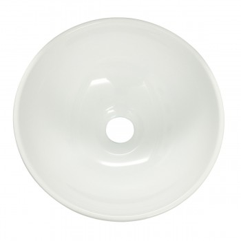 <PRE>White Small Vessel Sink Above Counter Round Porcelain 11.25 inches Dia. Set of 2</PRE>zoom4